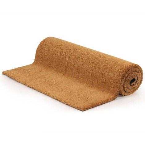 Doormat Coir 24 mm 80x100 cm Natural