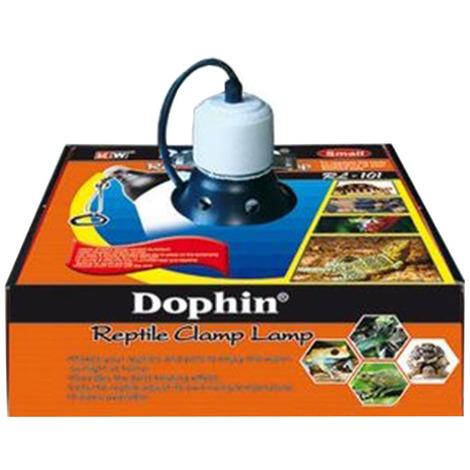 Dophin Reptile Clamp Lamp Medium 22cm - Portalampada per Terrari