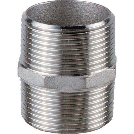 Doppelnippel NPS=1 1/4 Zoll 8-kant L 49,5mm SPRINGER