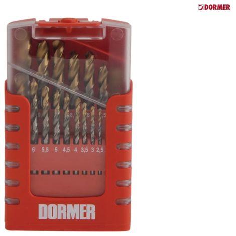 DORMER A002 COMPACT DRILL SET 1-10MM X 0.5