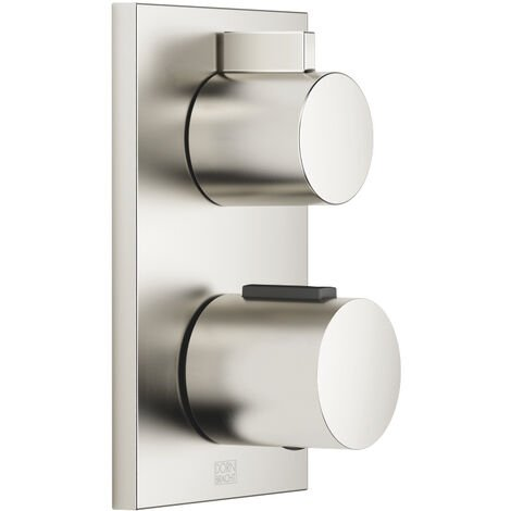 Dornbracht flush-mounted thermostat with two-way volume control 36426670, kit removal, colour: Platinum Matt - 36426670-06
