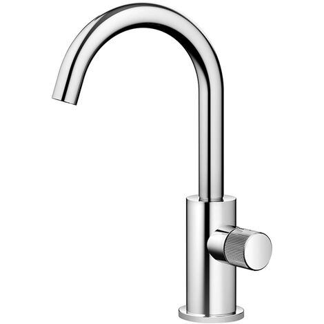 Dornbracht META robinet à colonne, eau froide, projection 123 mm, Coloris: Noir Mat - 17500661-33