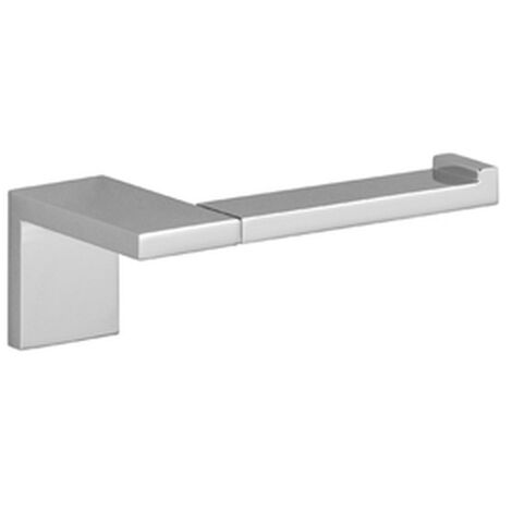 Dornbracht Papierrollenhalter ohne Deckel Symetrics 83500980 90mm schwarz matt, 83500980-33