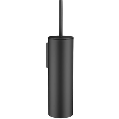 Dornbracht Toiletten-Bürstengarnitur, Wandmodell, 456x100x110 mm, 83910979,, Farbe: Schwarz Matt - 83910979-33