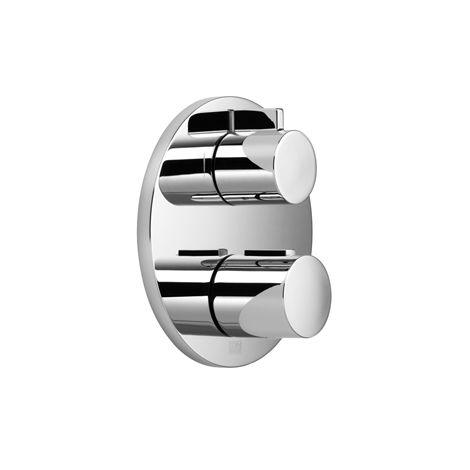 Dornbracht Unterputz Thermostat mit Einweg-Mengenregulierung, Bausatz-Endmontage, 36425970, Farbe: dark Platinum matt - 36425970-99