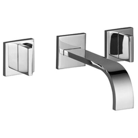 Dornbracht Waschtisch Wandbatterie ohne Ablaufgarnitur MEM messing gebürstet, 36707782-28