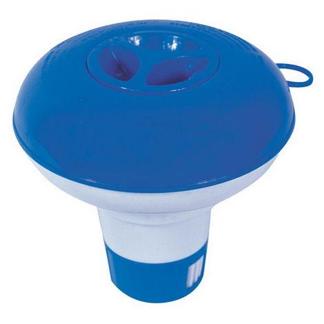 Doseur flottant piscine Bestway Ø12,7cm pour pastilles 20g