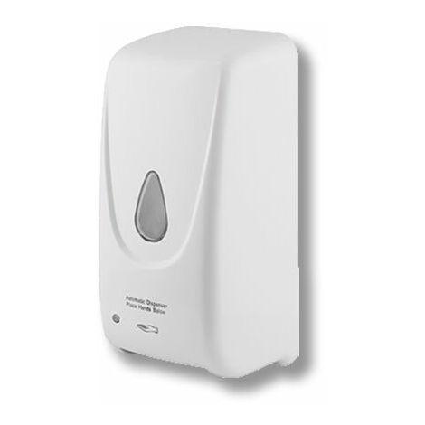 Dosificador Automático de Pared Blanco Para Gel Hidroalcohólico de Manos 900 ml