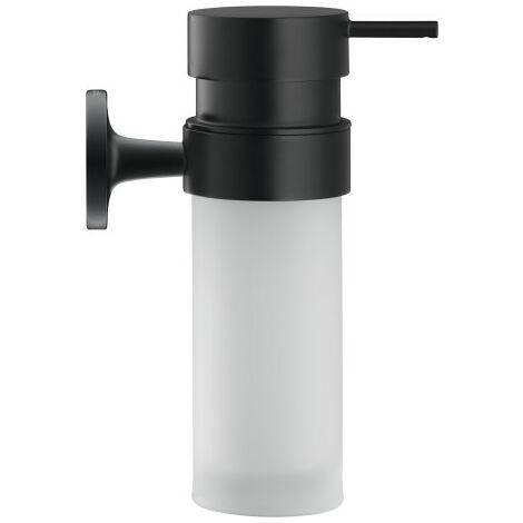Dosificador de jabón Duravit Starck T 009935 para montaje en pared, color: Negro Mate - 0099354600