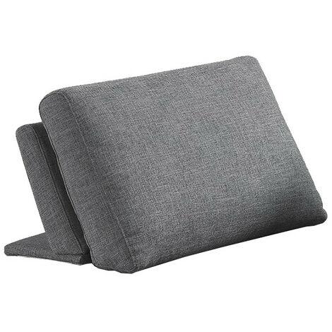 Dossier coussin amovible pour canapé modulable - SUDOKU - Gris