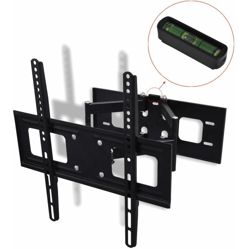 Youthup - Double-armed Tilt & Swivel Wall Mounted TV Bracket 3D 400x400mm 32'-55'