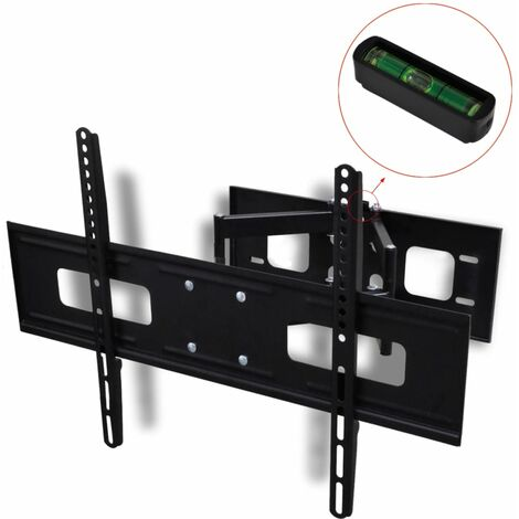 """Double-armed Tilt & Swivel Wall Mounted TV Bracket 3D 600x400mm 37""""-70"""""""