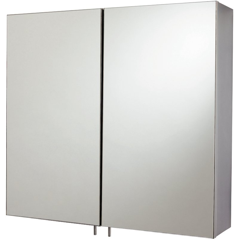 Double Bathroom Cabinet & Mirror