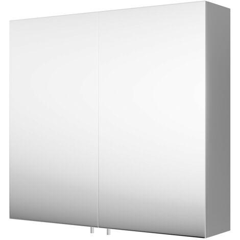 Double Bathroom Cabinet & Mirror
