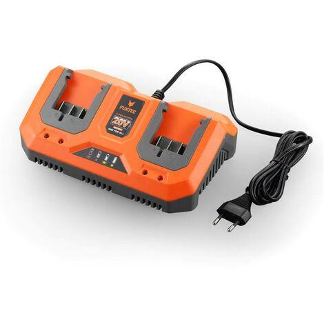 Double chargeur 2,4 Ah 20V FUXTEC FX-E1LG3A