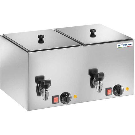 Double cuisinière et radiateur Wurstel 2 cm 56x35x29 teknoline CSW10+10