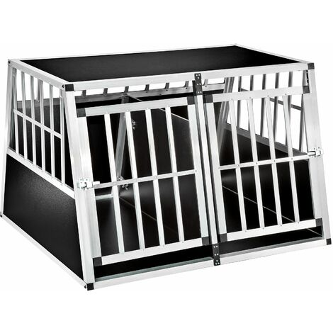 Double dog crate Bobby - dog cage, puppy crate, dog travel crate