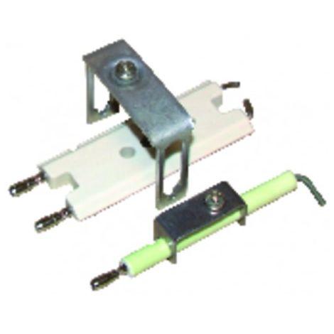 Double electrode 871 - DIFF for De Dietrich : 97902521