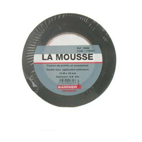 Double face Mousse noir SCAPA 5589 19mm x 10m