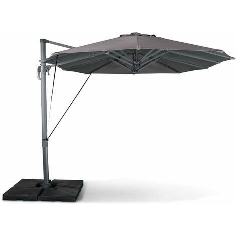 Double parasol déporté 2x4m - Ciotat