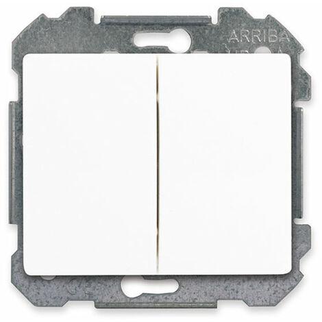Double Poussoir Blanc Delta IRIS - SIEMENS