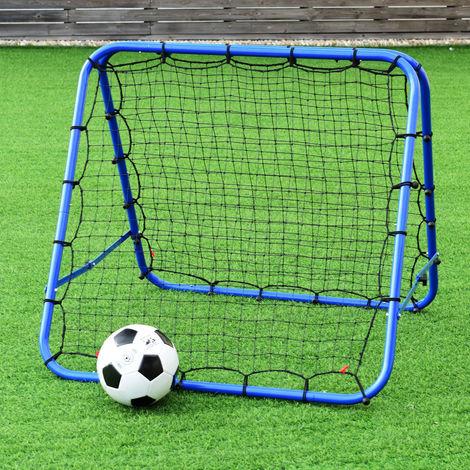 Double-sided Football Pro Rebounder Net Training Adjustable Kickback Soccer Goal