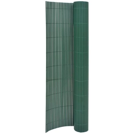 Double-Sided Garden Fence 170x300 cm Green - Green