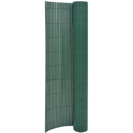 Double-Sided Garden Fence 170x500 cm Green