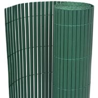 Double-Sided Garden Fence 195x500 cm Green