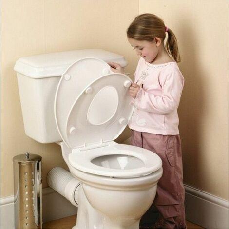 Double siège toilettes - Blanc