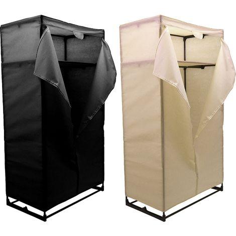 Double Storage Wardrobe, Cream