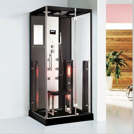 Douche Boreal® Combi INFRASTEAM 100 - hammam + infrarouge à spectre total