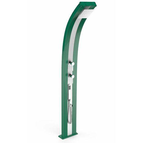 Douche chaude pour piscine Dada Verde In cm 34x14x226 ARKEMA DESIGN - prodotto made in Italy CV-D340/6016-I