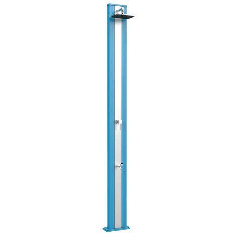 Douche classique avec rince pieds bleu e cm 26x12x228 ARKEMA DESIGN - prodotto made in Italy CV-A225/5012-I