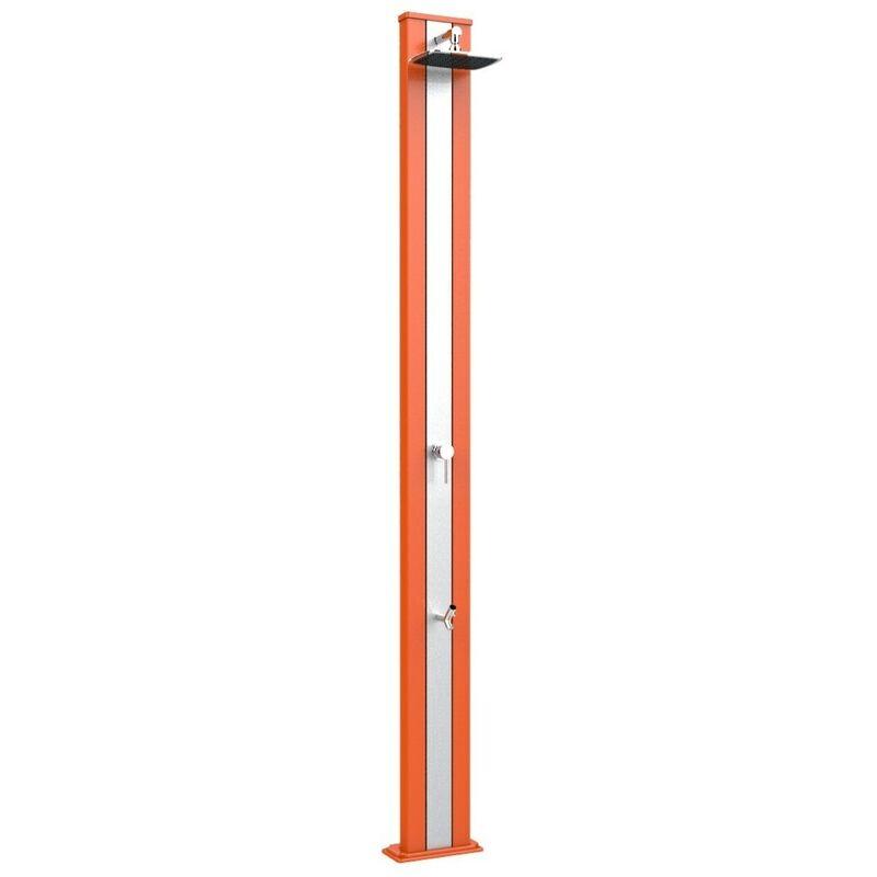 Douche classique Ressort S Orange et aci cm 26x12x228 ARKEMA DESIGN - prodotto made in Italy CV-A225/2009-I