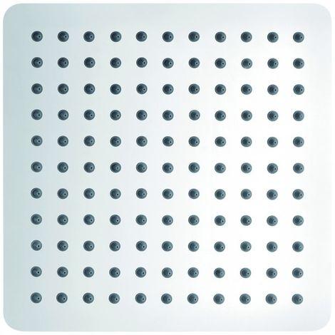 Douche de tête en acier inoxydable, carrée DPG2007 - 25x25cm