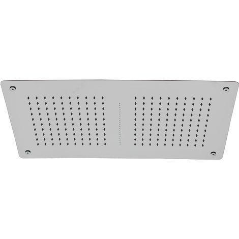 Douche de tête rectangulaire pour montage plafond, 70 x 38 cm, DPG5019