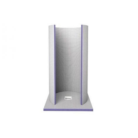 Douche ronde à carreler Aqua Circle Jackoboard - Siphon Vertical