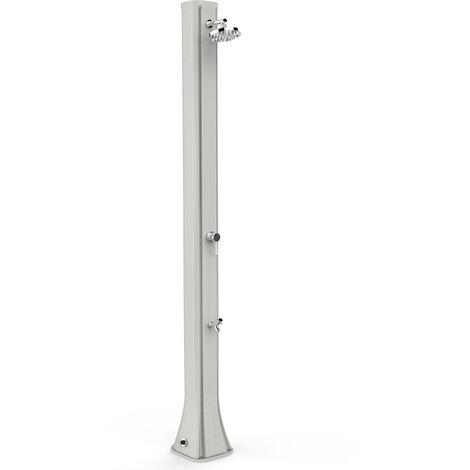 Douche solaire avec Rince Pieds Gris Arkema Design F620/7016