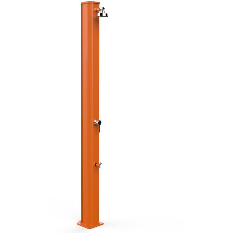 Douche solaire Big Jolly Mitigeur Orange cm 18,5x20x229 CV-A320/2009 - Arkema Design-prodotto Made In Italy - ARKEMA DESIGN - PRODOTTO MADE IN ITALY