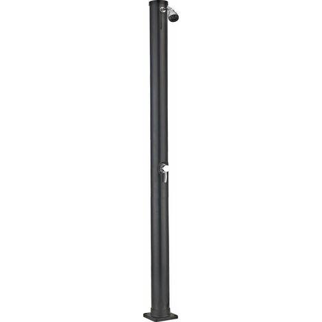 Douche solaire PVC ronde noir 20 litres