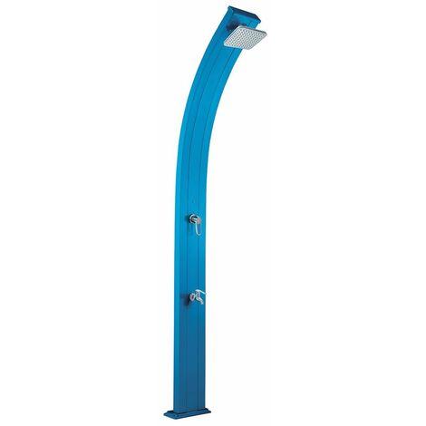 Douche solaire so spring bleu 30l + rince pieds