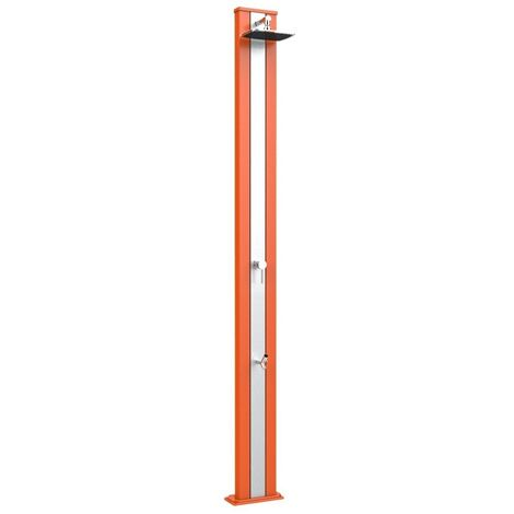 Douche Spring S orange et rondelle de pi cm 26x12x228 ARKEMA DESIGN - prodotto made in Italy CV-A220/2009-I