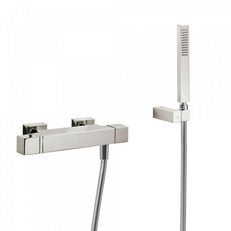 Douche thermostatique Douchette à main anticalcaire avec support orientable et flexible. - TRES 20216409AC