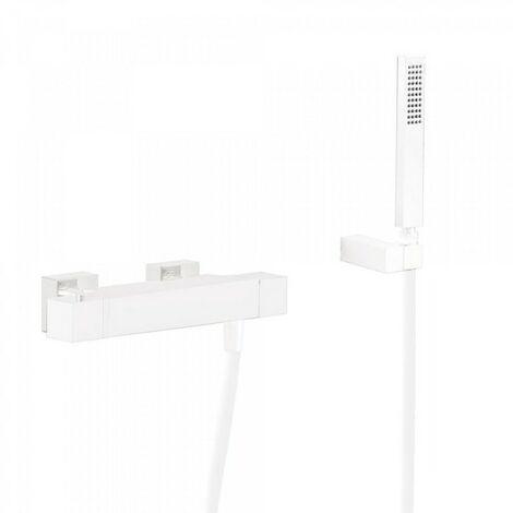 Douche thermostatique Douchette à main anticalcaire avec support orientable et flexible. - TRES 20216409BM