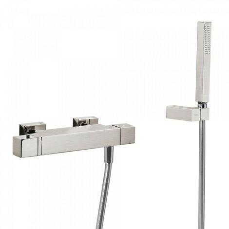 Douche thermostatique Douchette à main anticalcaire avec support orientable et flexible. - TRES 507164039