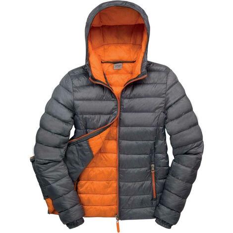 Doudoune femme Result Snowbird Gris / Orange
