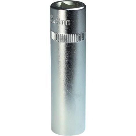 Douille 1/4 10 mm 6kt. longue FORTIS