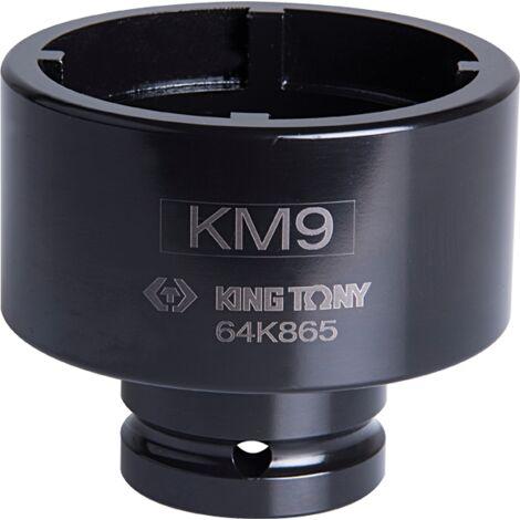 Douille 3/4 à chocs pour écrous à encoches KM10 70mm
