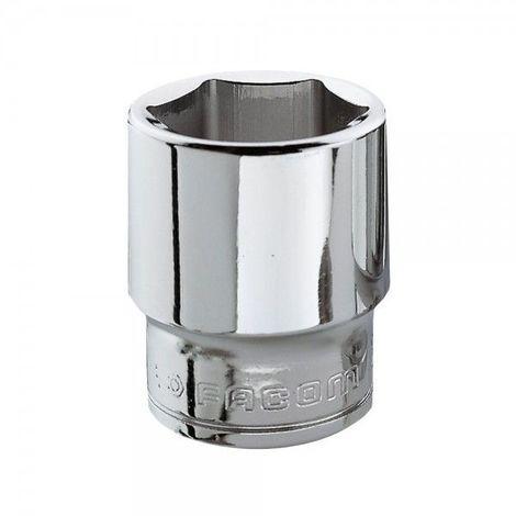 SAM Outillage R-8 Douille courte 1//4 6 Pans de 8 mm